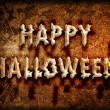 Happy halloween sign — Stock Photo #6962503