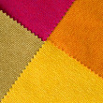 Four Fabrec Hot Tone color Sample — Stock Photo #7389608