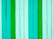 Green tone color painted on wood — Stock Photo