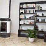 Pellet stove — Stock Photo