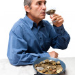 Man having Money — Stock Photo
