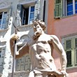 Stone statue of Neptune — Stock Photo