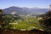 просмотр долина — Стоковое фото