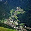 Valley Dolomites — Stock Photo