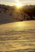 Sunset mountain — Stock Photo