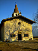 Tyrolean church — Stock Photo