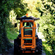 Small tractor — Stock Photo #7649108