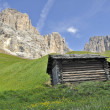 Dolomiti mountains — Stock Photo