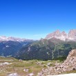 Dolomiti mountains — Stock Photo