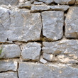 Stock Photo: Wall stones