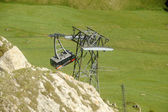 Ski lifts — Foto Stock