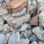 Demolished house — Stock Photo