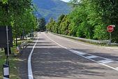 Asphalt highway — Stock Photo