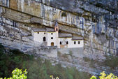 Monastery St. Colombano — Stok fotoğraf