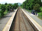 Rural Railway Station. — Stock Photo