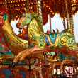 Carousel Fun Fair Ride. - Stock Photo