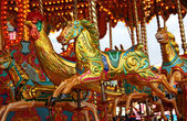 Carousel Fun Fair Ride. — Stock Photo