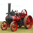 Stock Photo: Traction Steam Engine.