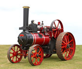 Traction Steam Engine. — Stock Photo