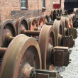 Train Wheels. — Stock Photo