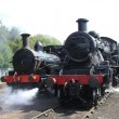 Steam Engines. - Stock Photo