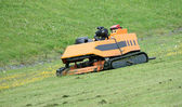 Grass Cutter. — Stock Photo