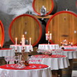 Stock Photo: Wine cellar celebration