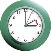Daylight saving time (zomer) — Stockvector
