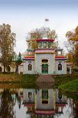 在 tsarskoe selo 中国风格馆 — 图库照片