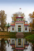 Pavilion in Chinese style in Tsarskoe Selo — 图库照片