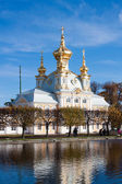 Grand palace in Peterhof, Russia — Stock Photo