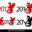 Royalty-Free Stock Vector Image: Year of the dragon