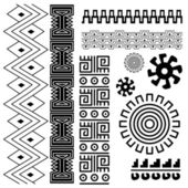 Ancient american pattern — Stock Vector