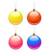 Christmas balls — Stock vektor