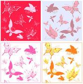 Butterfly pattern — Stock Vector
