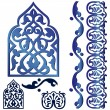 Cтоковый вектор: Vector islamic design element