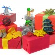 Christmas presents — Stock Photo