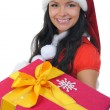 Christmas Smiling Woman — Stock Photo #7727378