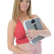 Beautiful young pregnant woman — Stock Photo #7885341