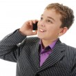 Boy talking on the phone. — Stock Photo #7906097
