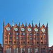 Stralsund - Rathaus - city hall - Stock Photo