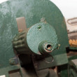 Maxim gun — Stock Photo