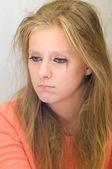 Crying girl — Stok fotoğraf