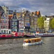 Classical Amsterdam view — Stock Photo #6928553