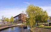 Amsterdam. Modern residential areas. — Stock Photo