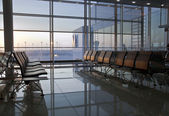 Airport lounge area — Stock Photo