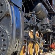 Old steam locomotive — Stock Photo #7508775