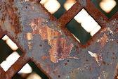 Arka plan soyut inşaat demir — Stok fotoğraf
