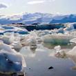 Iceland icemelting scenery — Stock Photo