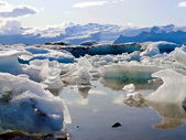 Iceland icemelting scenery — Photo